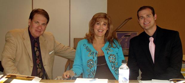 (L to R) Howard Neu, Barbara Neu and Ray Dillman Neu
